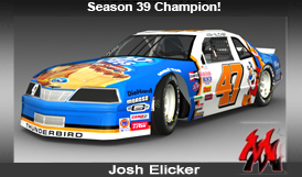 Friday Night Winston Cup Series Areo88 Mod Nascar Sim Racing Online Winner West Coast Time Season 36 New